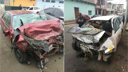 Mujer fallece en choque de autos en Laredo