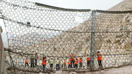 Barreras dinámicas en las quebradas de Chosica redujeron el impacto de los huaicos