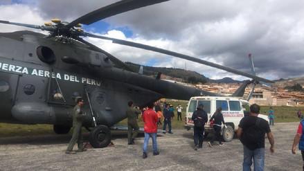 Médico y chofer mueren tras caída de ambulancia a abismo en Pataz