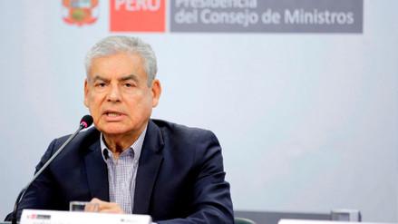 Villanueva confirmó que juramentación del ministro de la Producción se dará este lunes