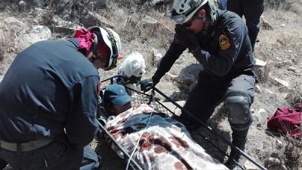 Rescatan a peregrina de la Virgen de Chapi gracias a ladridos de su mascota
