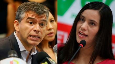 Julio Guzmán y Verónika Mendoza están a un paso de quedar fuera de la carrera electoral