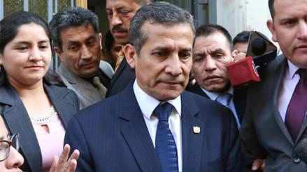 Ollanta Humala abandonó este lunes por la noche el penal Barbadillo