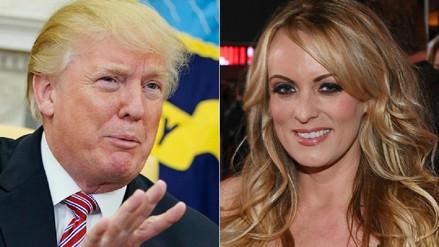 La actriz de cine para adultos Stormy Daniels presentó una nueva demanda contra Trump