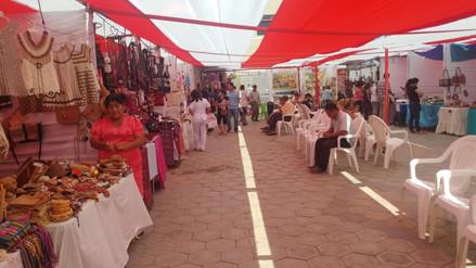 Más de 2 000 personas disfrutaron de la feria artesanal en Chiclayo