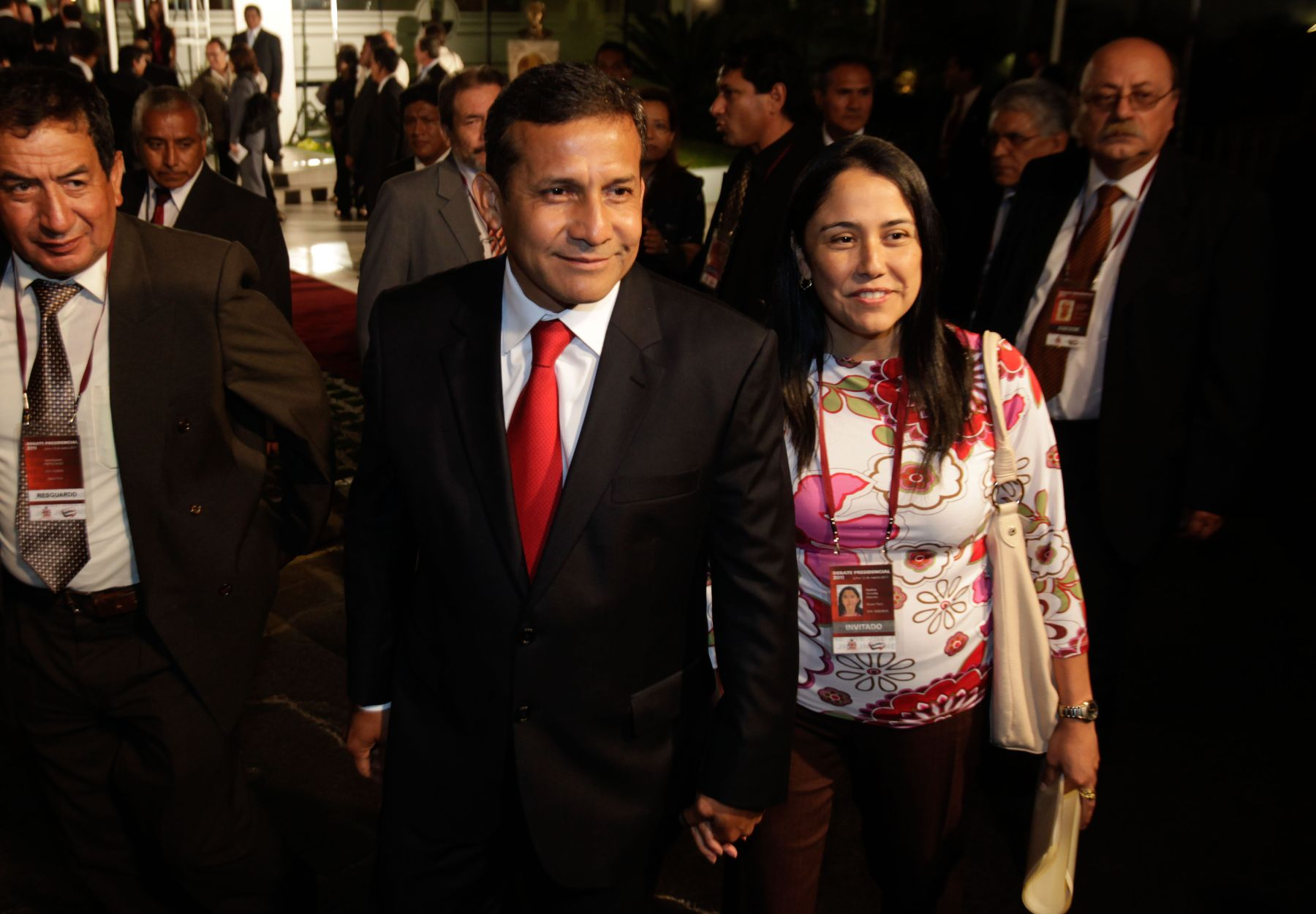 Humala y Heredia recuperaron su libertad luego de más de nueve meses en prisión preventiva