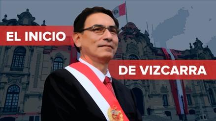 Análisis | Diez momentos claves del inicio del gobierno de Martín Vizcarra