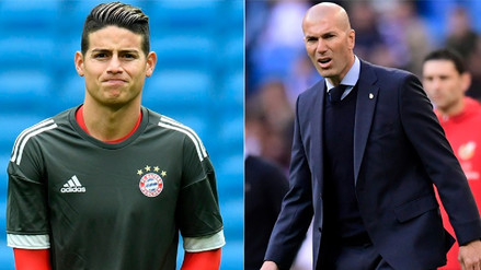 James Rodríguez sobre Zinedine Zidane: