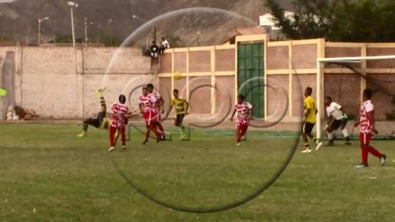 Golazo de chalaca a lo Cristiano Ronaldo se vio en la Copa Perú