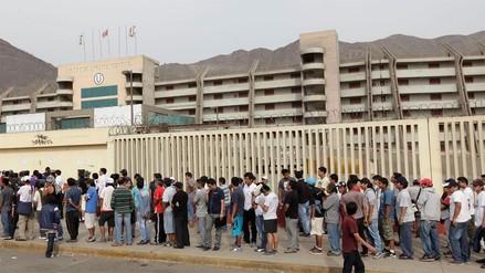 La Molina pide que los partidos en el estadio Monumental se realicen a puertas cerradas