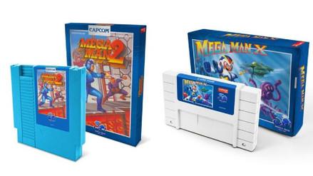 Capcom relanzará los cartuchos de Mega Man 2 y Mega Man X por el aniversario de la saga