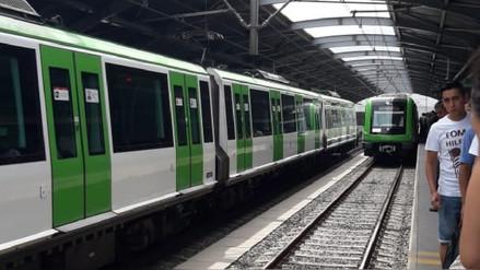Hombre que se lanzó a rieles del Metro de Lima está en