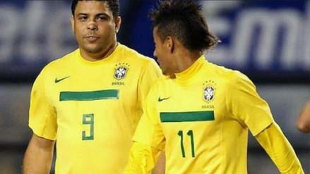 Ronaldo Nazario habló sobre el posible fichaje de Neymar a Real Madrid