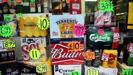 Escocia fija un precio mínimo al alcohol para frenar su elevado consumo