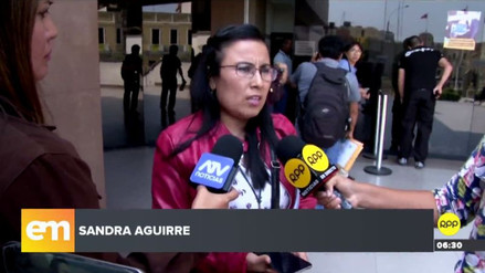 La hermana de Eyvi Liset Ágreda denunció que ha recibido amenazas