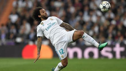 El penal de Marcelo que el árbitro no cobró