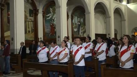 Realizan misa por Paolo Guerrero en Nuevo Chimbote