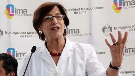 Poder Judicial confirmó la incautación de documentos de Susana Villarán