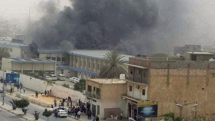 Un atentado suicida dejó al menos 13 muertos en Libia