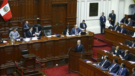 Gabinete Villanueva requirió facultades delegadas al Congreso en seis sectores
