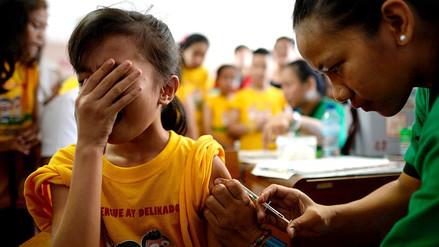 La vacuna contra el dengue solo debe aplicarse en personas con diagnóstico confirmado