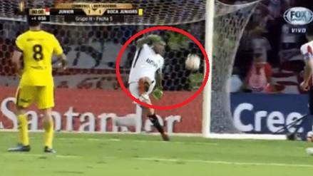 El blooper de Agustín Rossi que paralizó a todo Boca Juniors