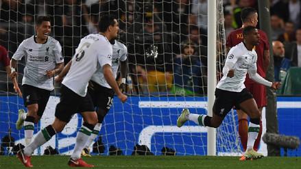 Liverpool es finalista de la Champions League pese a caer ante la Roma