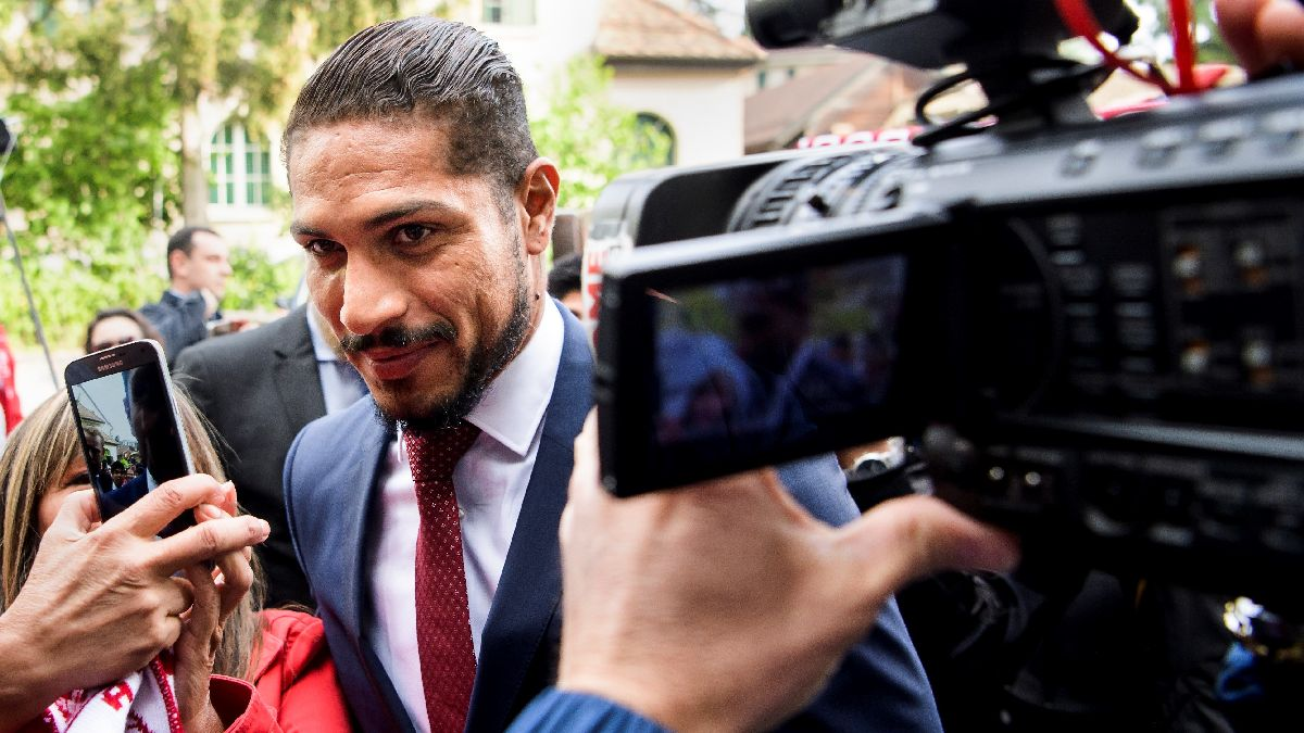 Paolo Guerrero se presentó ante el TAS y ahora aguarda el fallo final
