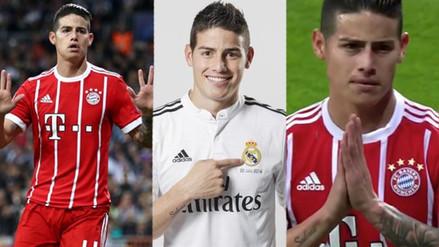 Con James: los ex jugadores del Real Madrid que le anotaron en Champions