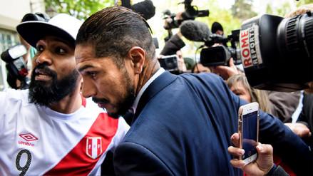 Paolo Guerrero tras audiencia ante el TAS: