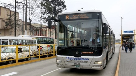 Protransporte: No existen criterios que justifiquen alza de tarifa del Metropolitano