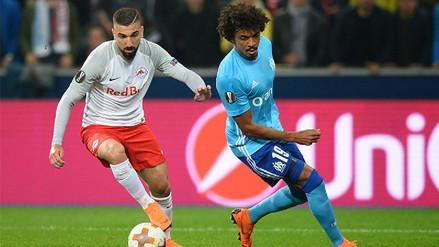 Marsella perdió con el Salzburgo pero le alcanzó para llegar a la final de la Europa League