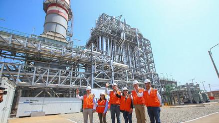 Inauguran central térmica en Cañete con potencia de 300 megavatios