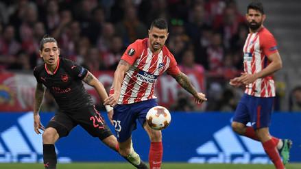 Atlético de Madrid venció al Arsenal y se metió en la final de la Europa League