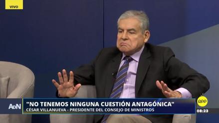 """César Villanueva: """"No tenemos ninguna cuestión antagónica con Peruanos por el Kambio"""""""