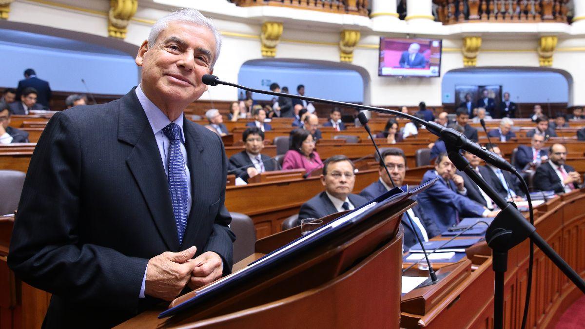 """Villanueva asegura que el Gobierno ha frenado el """"despilfarro"""" de 2,500 millones de soles"""