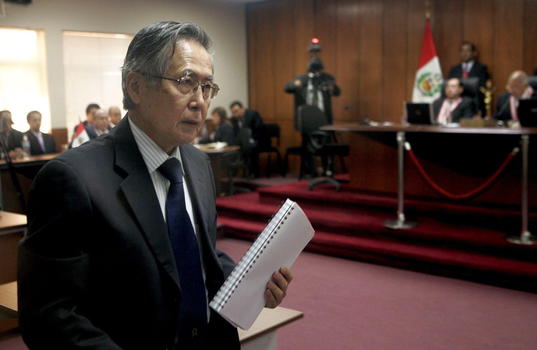 Tribunal Constitucional rechaza hábeas corpus a favor de Alberto Fujimori por delito de secuestro