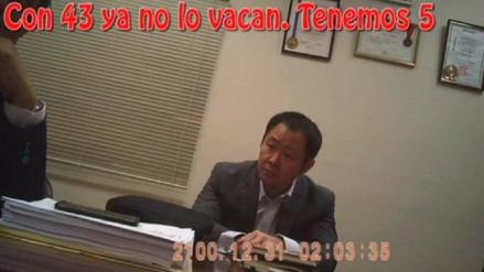 Fiscalía solicitó documentación telefónica de congresistas implicados en los 'Kenjivideos