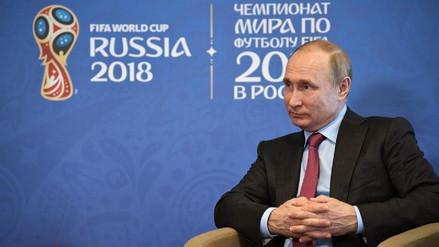 "Vladímir Putin aseguró que ""todo está listo para el Mundial"""