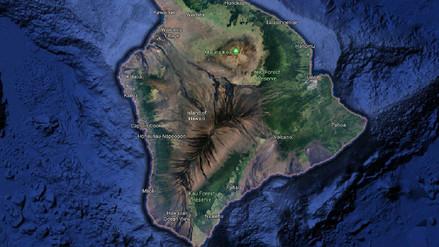Terremoto de 6.9 grados sacudió la zona del volcán en erupción en Hawái