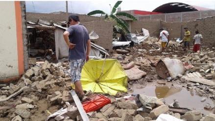 Donan terreno a damnificados por Niño costero tras reclamos en Trujillo