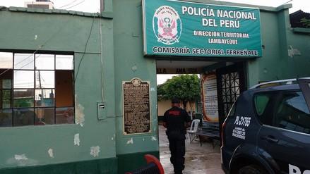 Policías de Ferreñafe capturan a arrebatadores de carteras