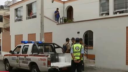 Surquillo: anciana murió e hijo quedó grave tras incendio en vivienda