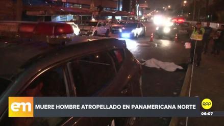 Un hombre murió atropellado esta madrugada en la Panamericana Norte