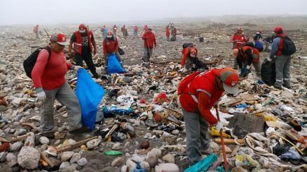 Recogen más de tres toneladas de basura en playa Márquez del Callao