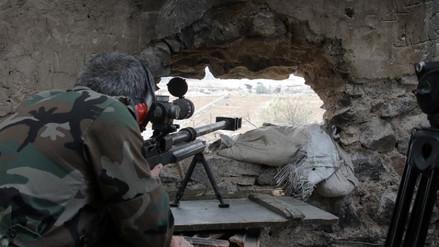 Al menos 19 soldados murieron en combates con ISIS en Damasco