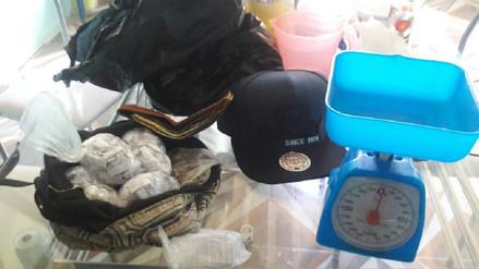 En Pomalca intervienen a adolescente con 424 envoltorios de droga