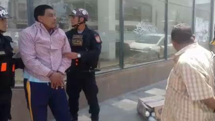 Capturan a ladrones que robaron insecticidas en pleno centro de Chiclayo
