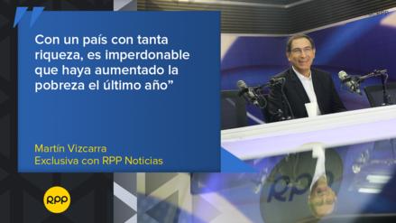 Las frases que dejó Martín Vizcarra en su entrevista exclusiva con RPP Noticias