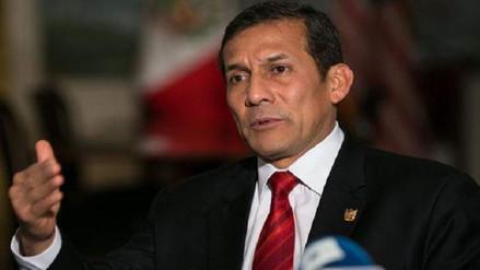 Ollanta Humala: Nos dictaron una prisión preventiva por sospecha y eso es abusivo